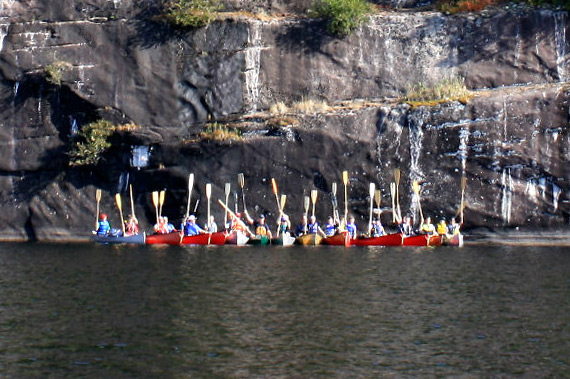 Canada Wilderness Canoe Groupose