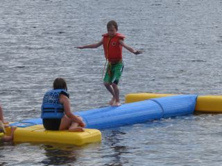 What better way for the kids to enjoy the lake than on a floating water park.  Make sure to bring them along on your trip to Northwestern Ontario.