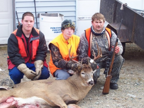 Nothing beats hunting in Ontario. Check out this fantastic deer!