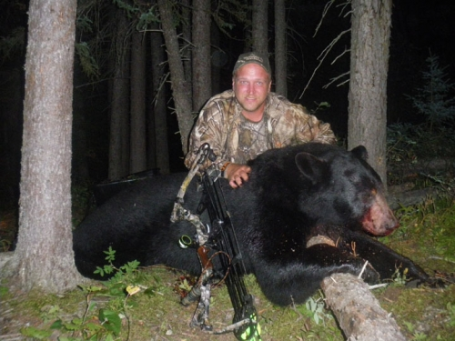 When archery hunting season for bear opens in Northwestern Ontario, make sure you're part of the opportunity to tag a big one.