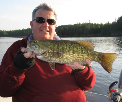 Another great catch in the Patricia Region! With thousands of lakes to choose from, you'll aways have a great fish tale to tell