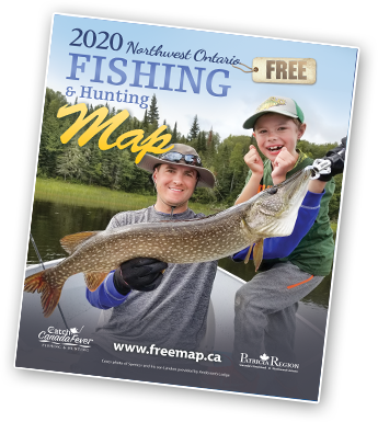 Get a Northwest Ontario Fishing Map