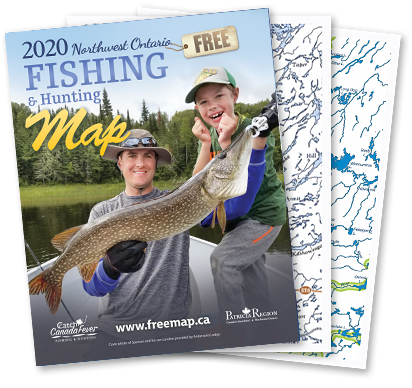 2016 Canadian Fishing & Hunting Map