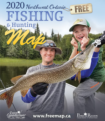 Free Fishing Map in Ontario
