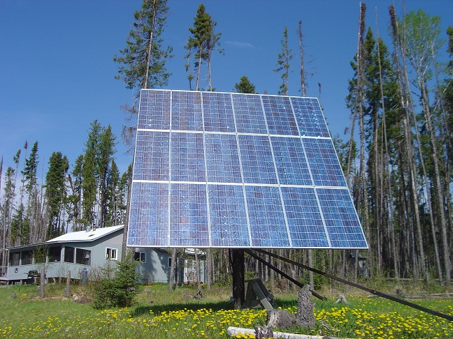 Solar panels power Big Hook
