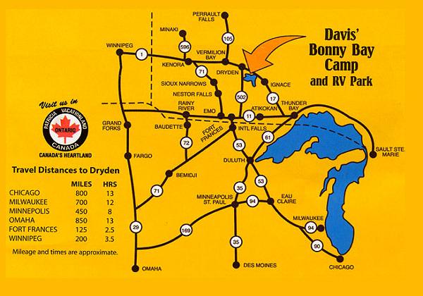 Davi's Bonny Bay Fishing Map