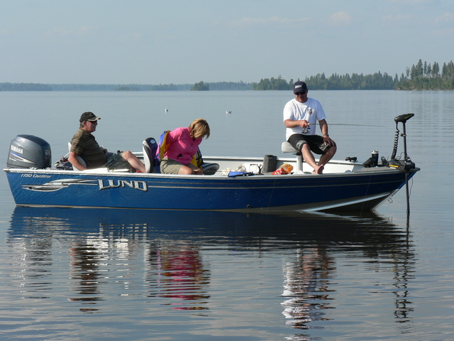About goose bay camp nungesser outpost for Lac seul fishing