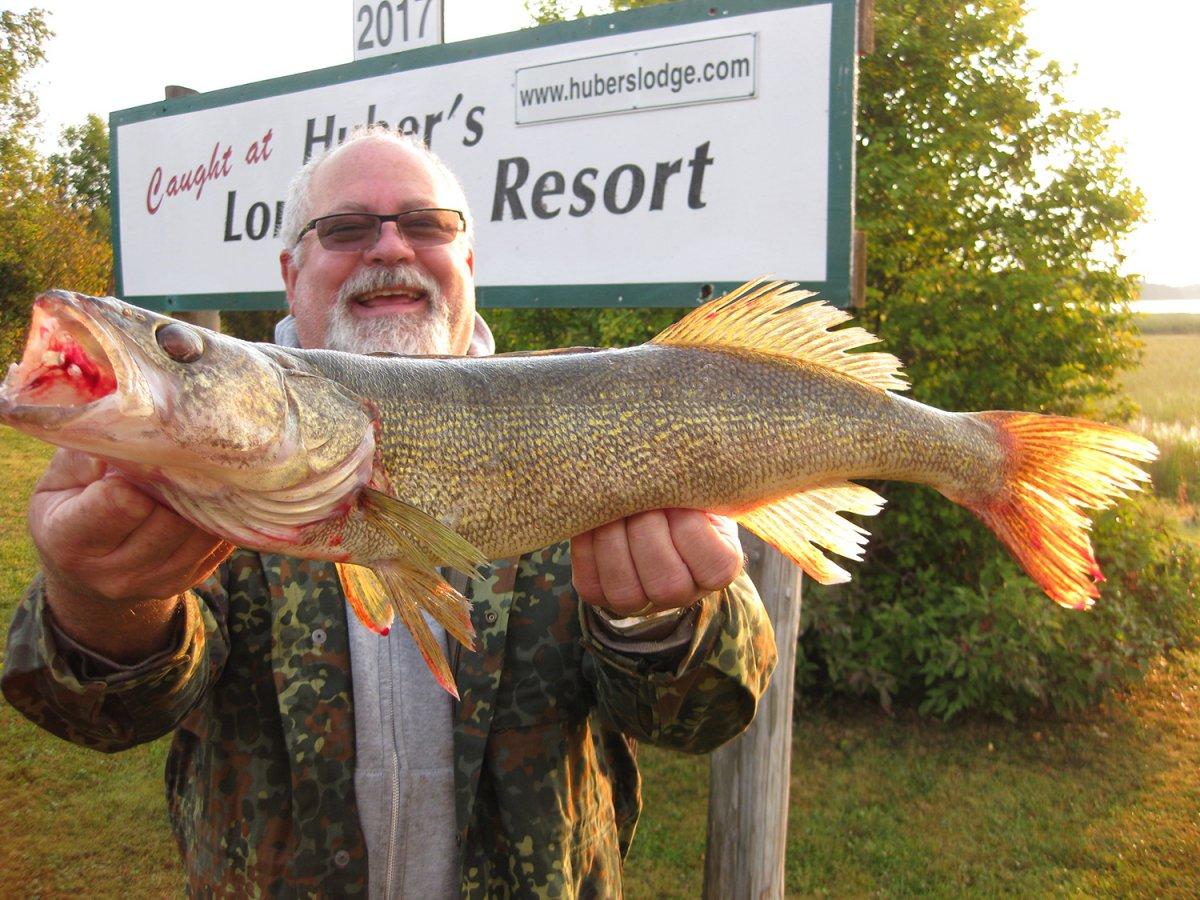Huber's Lone Pine Resort Fishing