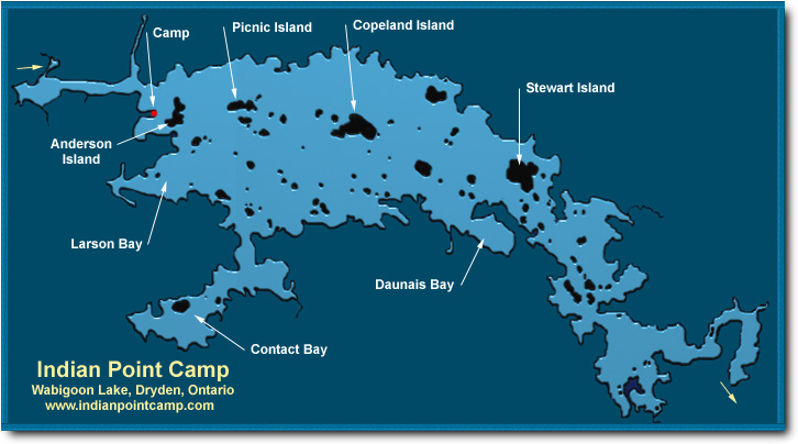 Indian Point Camp Map