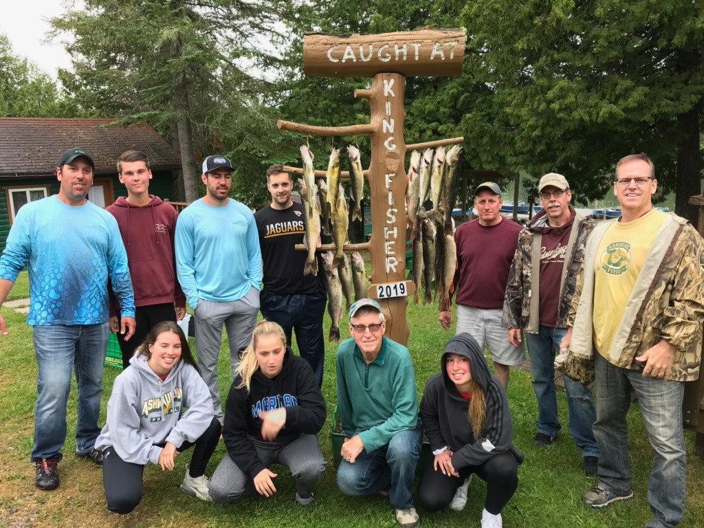 Kingfisher Resort Group Fishing