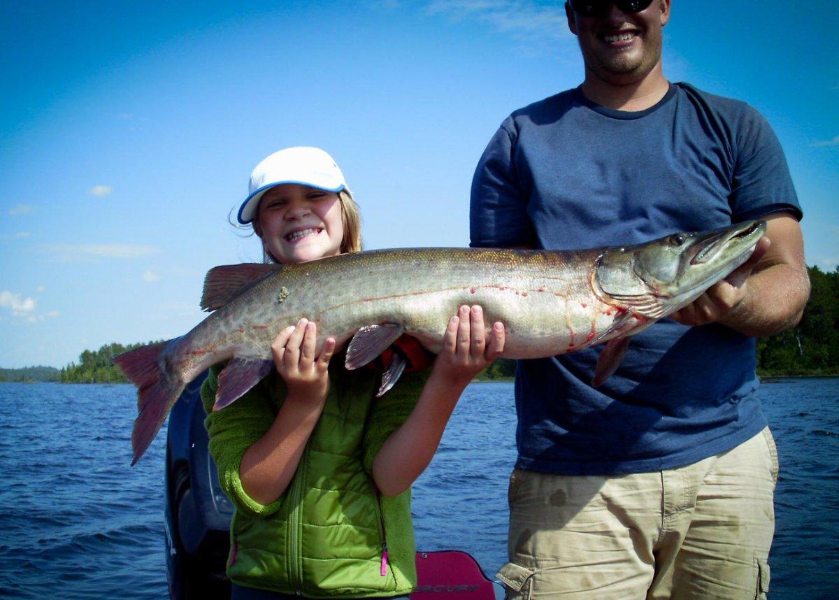 Northwest Ontario Muskie Fishing