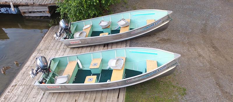 Rainbow Point Lodge Boats