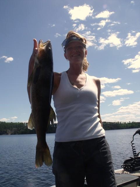 Northwest Ontario Walleye Fishing