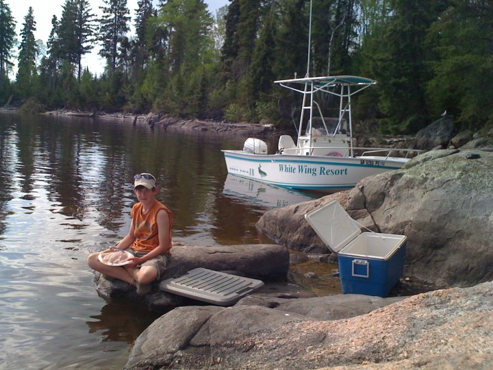 Fishing Shore Lunch