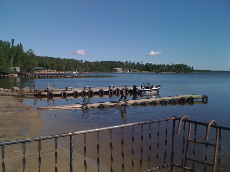 Whitewing Resort Fishing Dock