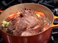 Slow Cooker Moose Roast