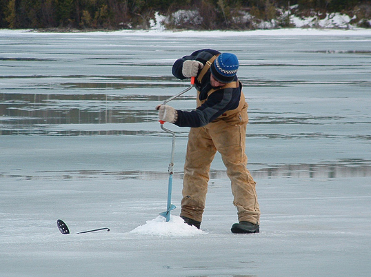 Tips for Drilling Ice Holes