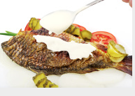 Pan Fried Brook Trout with Sour Cream