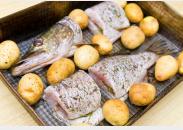 Potatoe Coated Walleye