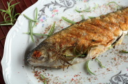 Wine Poached Jackfish