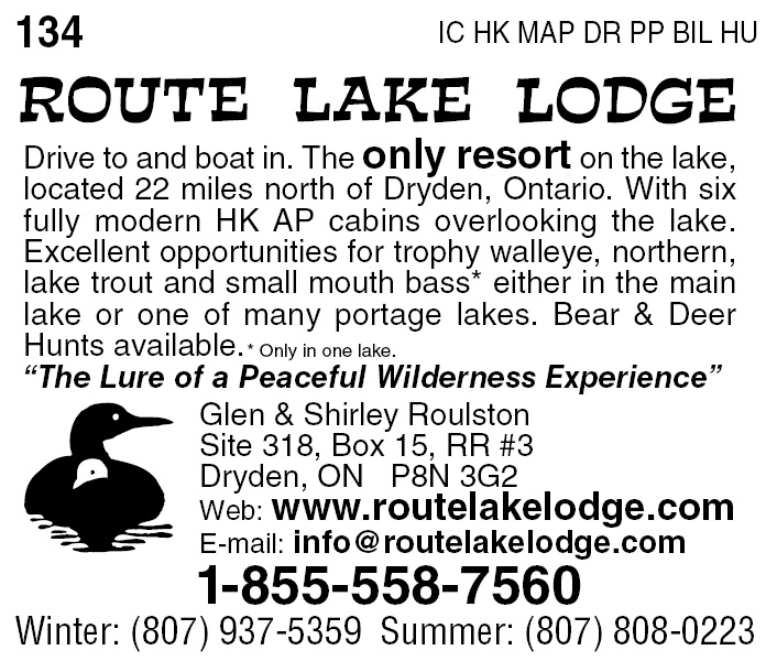 Route Lake Lodge