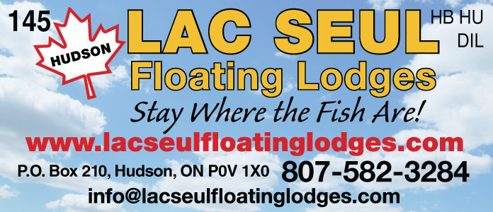 Lac Seul Floating Lodges