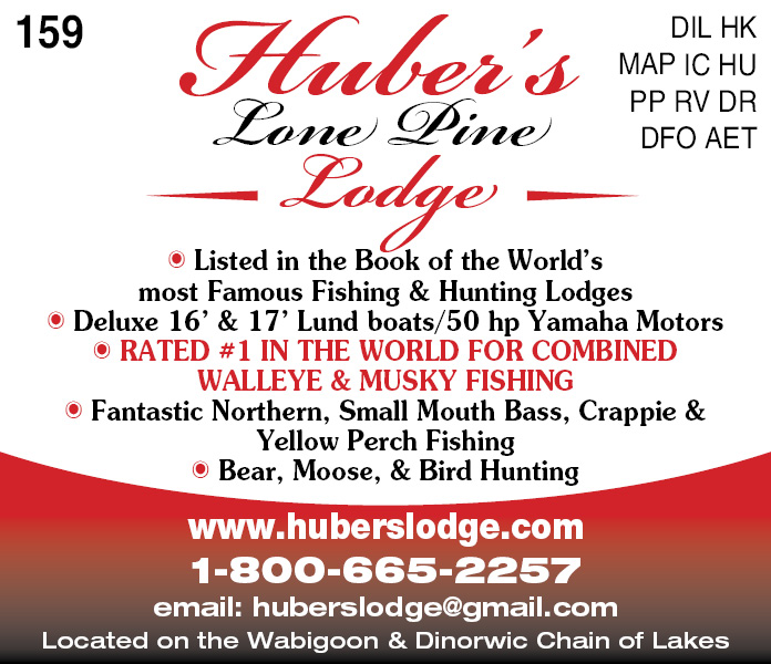 Huber's Lone Pine Lodge Ltd.