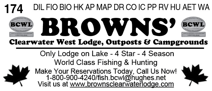 Browns' Clearwater West Lodge