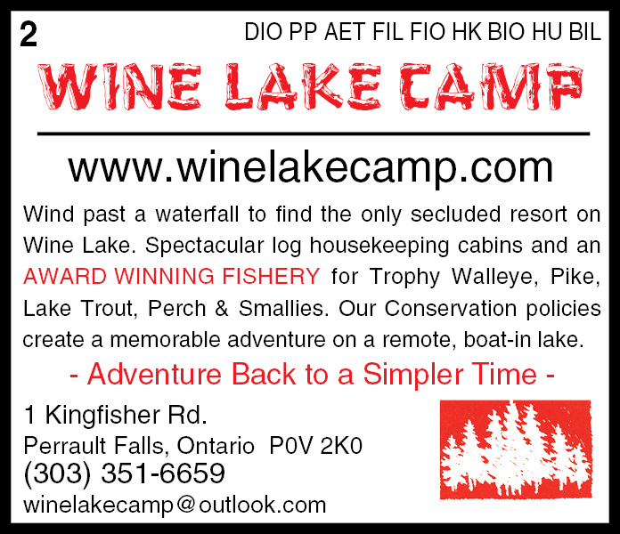 Wine Lake Camp