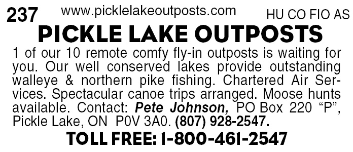 Pickle Lake Outposts
