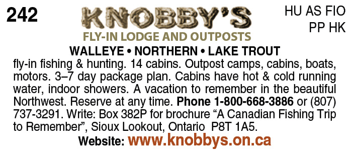 Knobby's Fly In Camps Ltd.