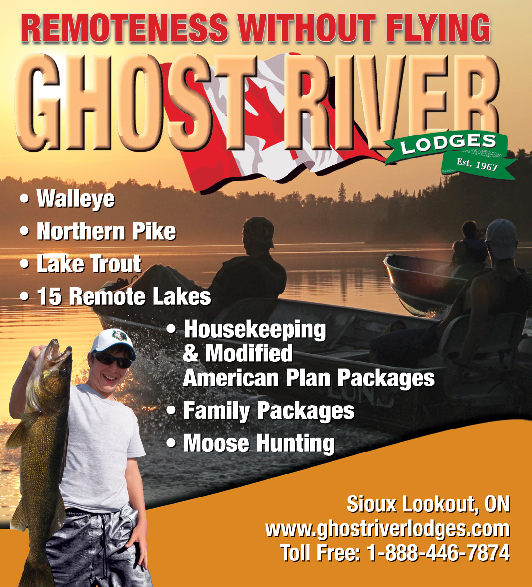 Ghost River Lodges