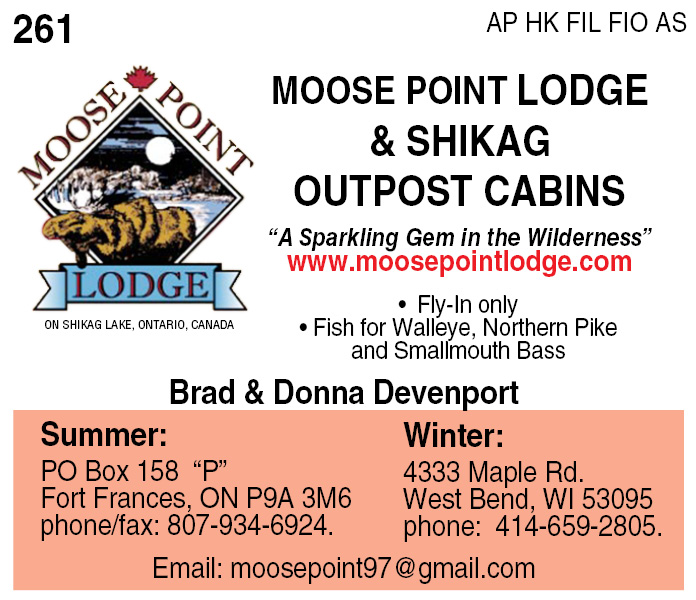 Moose Point Lodge and Shikag Outpost Cabins