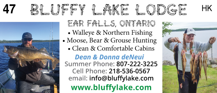 Bluffy Lake Lodge