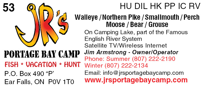 JR's Portage Bay Camp